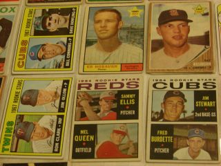 Vintage 1950s 1960s Baseball Sports Card Collection