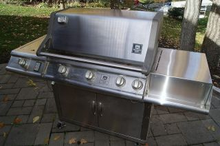 Grill Gas Stainless Steel 64 Long x 25 Wide x 45 High Members Mark w