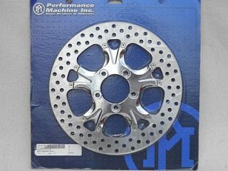 Performance Machine Gatlin Front Brake Rotor Disk New