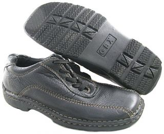 New GBX Mens Casual Oxford Black Shoes US Size L 7 5M R 7M