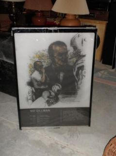 Sid Gillman San Diego Chargers NFL Football HOF Piece from