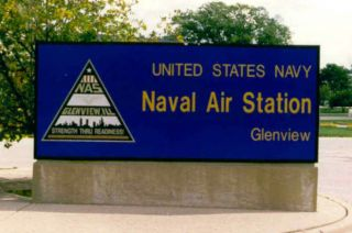 Naval Air Station Glenview Illinois US Navy USS Patch