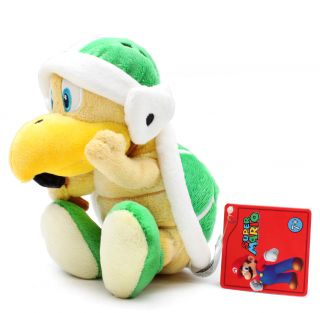 Authentic Brand New Global Holdings Super Mario Plush   7 Hammer Bros