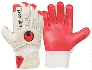 Soft Training Red Palm Comfort Performance Goalkeeper Gloves