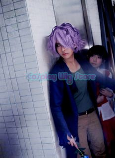 Ib Garry 11 New Vogue Purple Mix Brown Short Cosplay Hair Wig