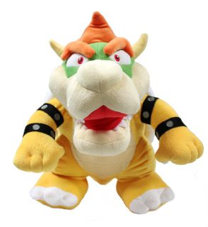 Authentic Brand New Global Holdings Super Mario Plush   15 Bowser