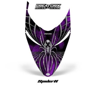 Polaris Shift RMK Snowmobile Hood Graphics SXPR