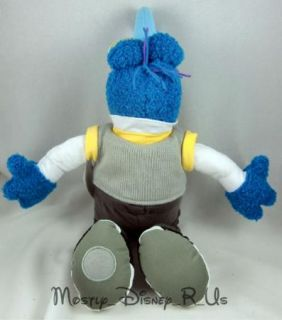 Authentic Original The Muppets Gonzo 2011 Toy Plush Doll 17