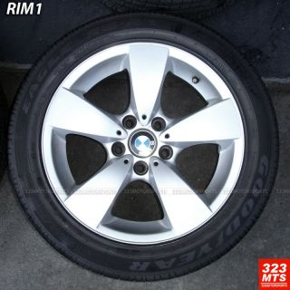 17 Used BMW 525 528 530 5x1201 Rims Wheels Used Goodyear Tire