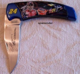 Franklin Mint Jeff Gordon NASCAR Knife Pouch