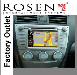 Toyota Camry in Dash 2 DIN Multi Media Navigation GPS System G2
