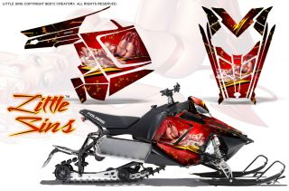 Pro RMK 600 800 Sled Snowmobile Graphics Kit Creatorx Wrap LSR