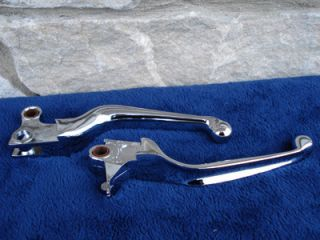 Chrome Levers Parts 4 Harley Sportster Dyna Softails
