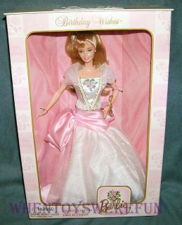 1999 barbie 1st happy birthday wishes collector edition doll nrfb this