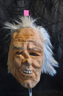 New Halloween Mask Scary Old Man Freak Grandpa