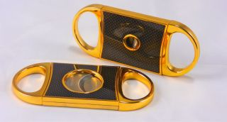 CUBAN CRAFTERS GOLD PERFECT CIGAR CUTTER BRAND NEW IN ORIGINAL