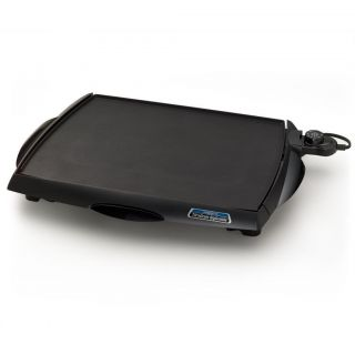 Tilt n Drain Big Griddle Cool Touch Large Electric Indoor Griddle NEW