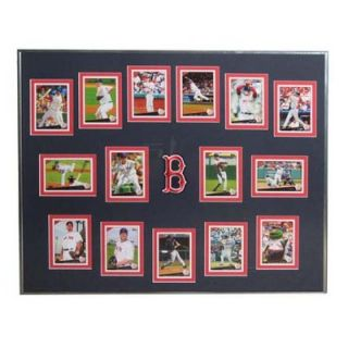 Topps MLB 2009 Trading Cards Framed Set  Boston Red Sox   T09BBBOSF