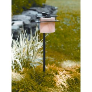 Sea Gull Lighting Sebring Outdoor Post Lantern in Brushed Stainless