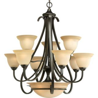 Progress Lighting Torino 12 Light Chandelier   P4418 77