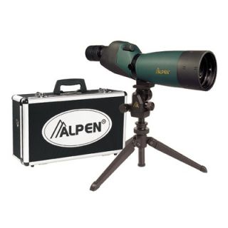 Alpen Outdoor 20 60x60 Waterproof Spotting Scope Kit with 45 Degree