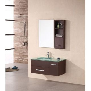 Design Element Picks Christine 35 Single Modern Vanity Set