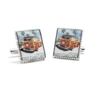 Penny Black 40 Woody Wagon Stamp Cufflinks   PB 3522 SL