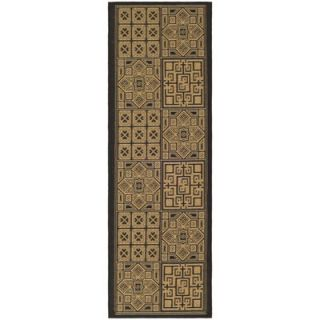 Safavieh Courtyard Light Brown/Black Rug   CY6947 46