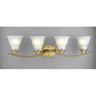 Progress Lighting Trinity Vanity Light in Polished Brass   P3193 10