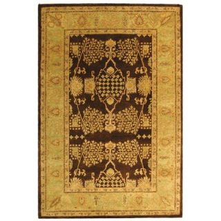 Safavieh Bergama Brown/Green Rug