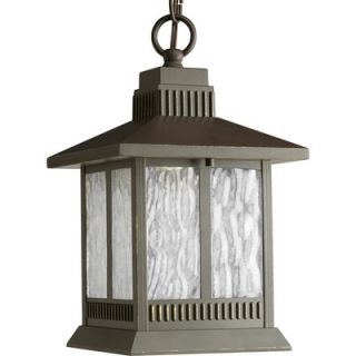 Progress Lighting Greenridge LED Outdoor Hanging Lantern in Antique