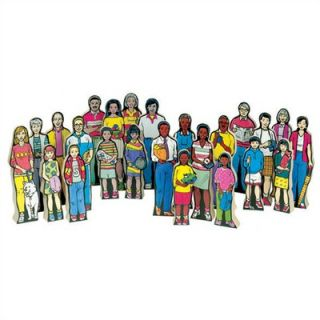 Guidecraft Multi Cultural Family Figures Kit