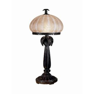 Dale Tiffany Musetta Amber 1 Light Table Lamp   PT100522