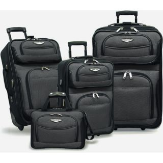 Amsterdam 4 Piece Two Tone Travel Set