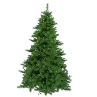 Vickerman Glacier Mixed Pine 7.5 Artificial Christmas Tree with LED