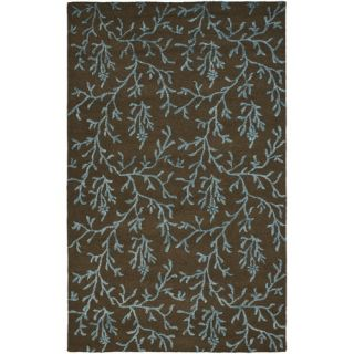 Safavieh Soho Brown/Light Blue Rug   SOH214B