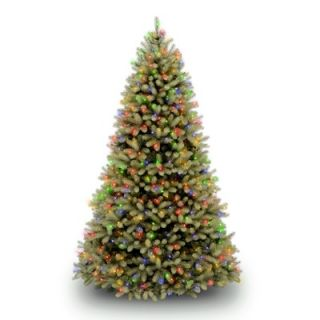 National Tree Co. Douglas Fir Pre Lit 7.5 Downswept Tree with LED