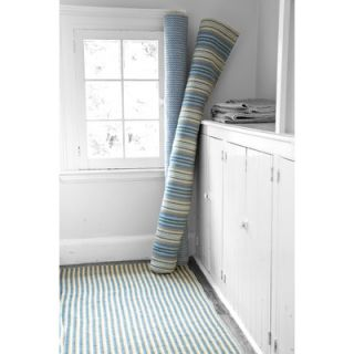 Dash and Albert Rugs Woven Slate Zipper Rug