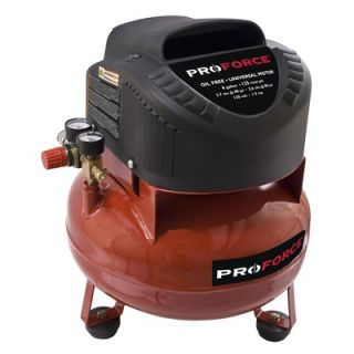 Powermate Proforce 6 Gallon Pancake Air Compressor with Extra Value