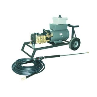 Cam Spray 2000 PSI Cold Water Electric Tube Cart Pressure Washer with