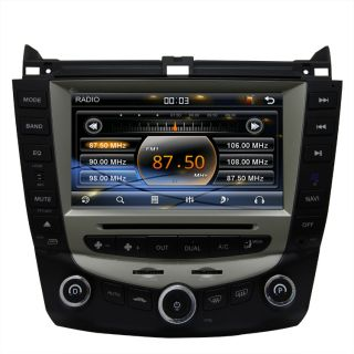 03 07 Honda Accord Car GPS Navigation Radio TV Bluetooth USB  DVD