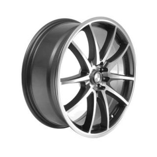 Summit Racing F10 Gray with Diamond Cut Wheel 18x7 5 4x100mm