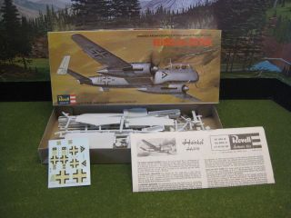 Revell Heinkel He 219 Owl 1/72 Model Airplane Kit #H112   WWII Night