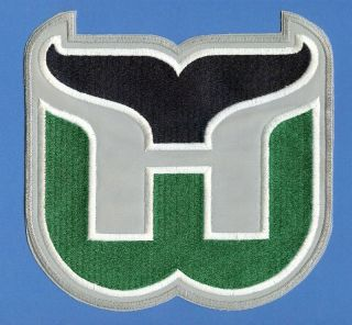 Hartford Whalers NHL CCM Hockey Jersey Patch Crest