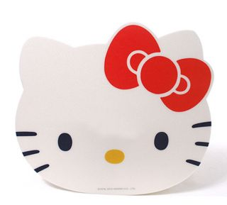 hello kitty PC Laptop Computer mouse mat mousepad_white color