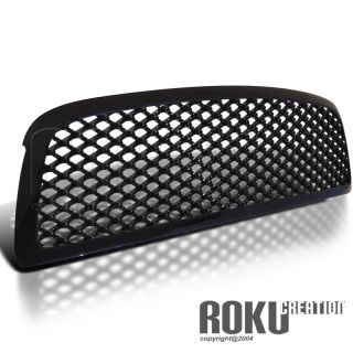09 12 Dodge RAM Black Front Upper ABS Mesh Grill Grille