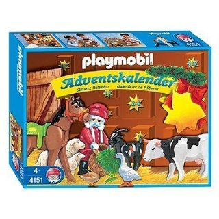 Playmobil Advent Calendar Animal Christmas Toys & Games