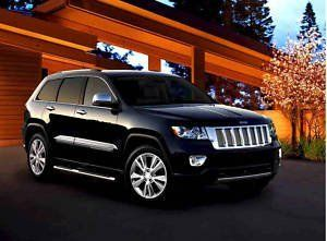 2011 JEEP GRAND CHEROKEE RUNNING BOARDS SIDE STEPS STEP