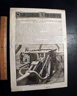 Early IBM Herman Hollerith Statistics 1889 Scientific American