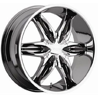 Viscera 778 26x9.5 Chrome Wheel / Rim 5x4.75 & 5x5 with a 15mm Offset